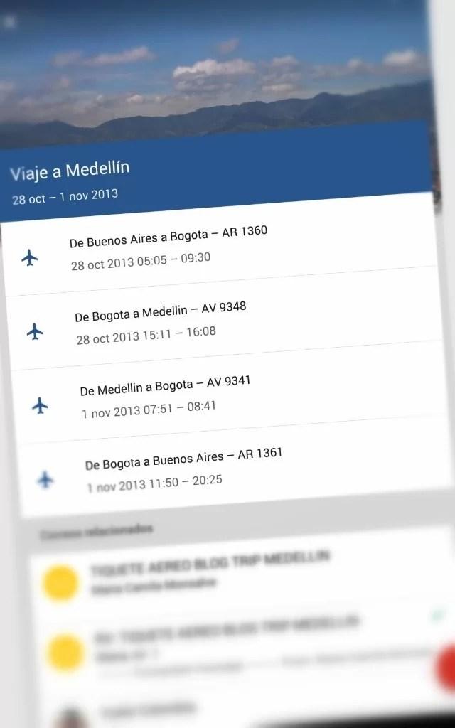 Viajes en Inbox