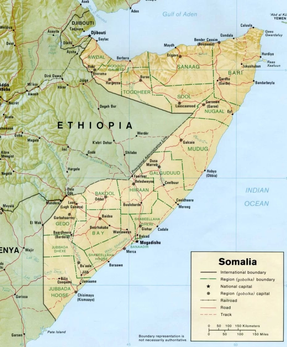 Somalia, el país del turismo cero