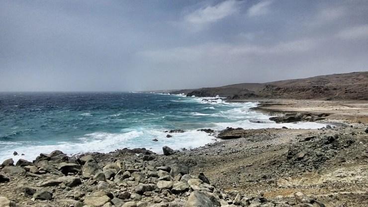 La costa y el viento