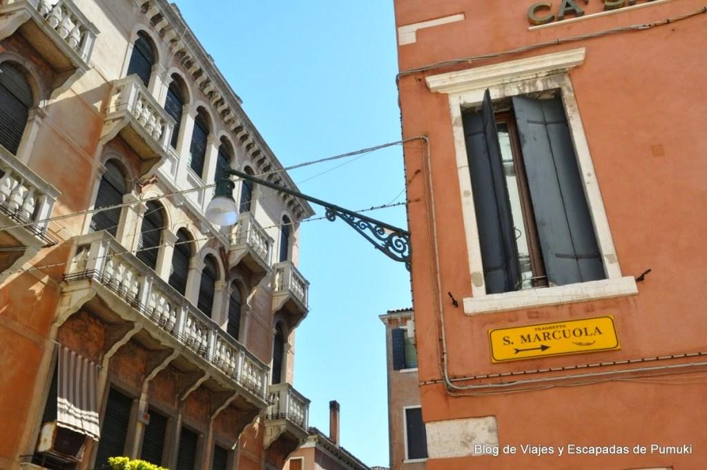 Parada de Traghetto en Plaza Marcuola