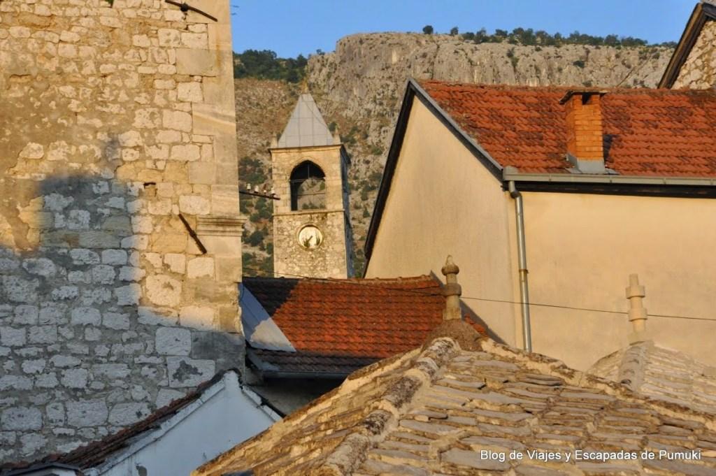 Torres y tejados en Mostar