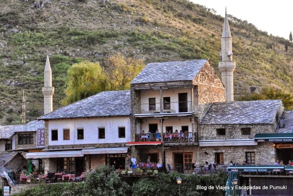 Lado musulmán de Mostar