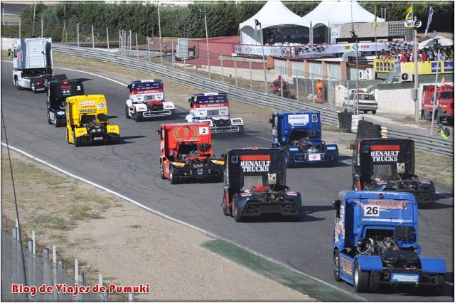 La salida lanzada del GP Camión es uno de los momentos mas emocionantes