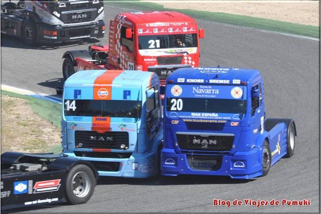 El GP Camiones que se celebra en Madrid a primeros de octubre es todo un espectáculo.