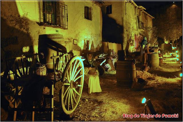 Belen Viviente de Buitrago de Lozoya en Madrid