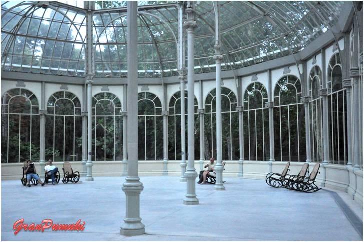 Palacio de Cristal. Parque del Retiro, Madrid