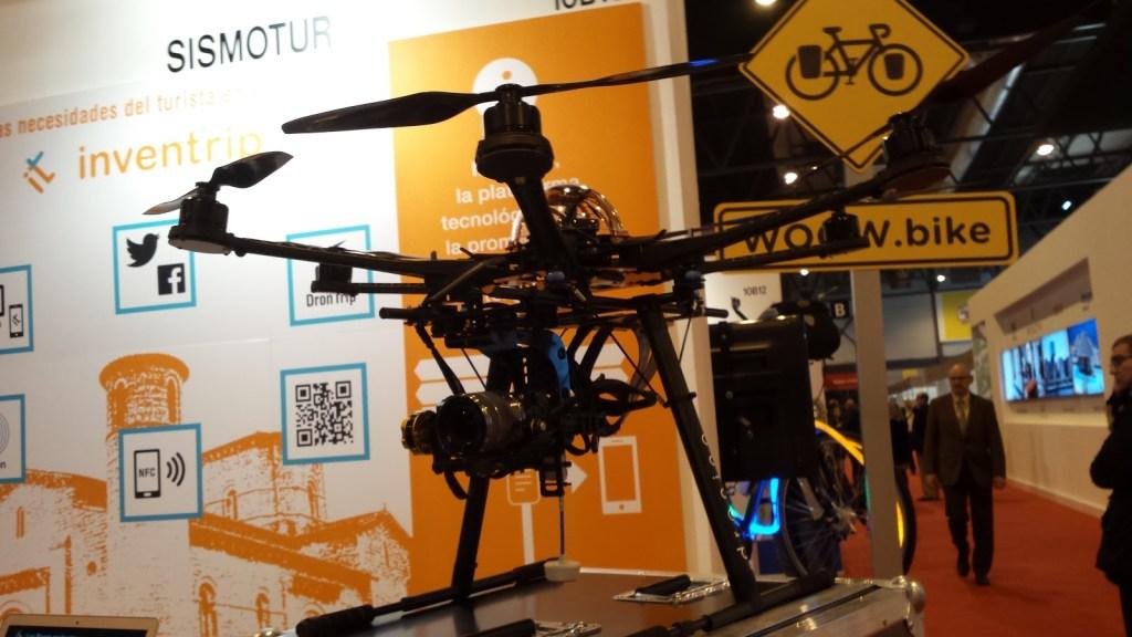 Drones en FITUR
