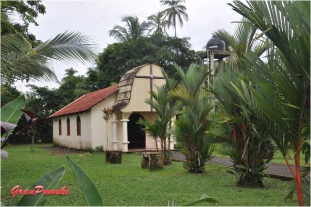 Iglesia en Tortuguero