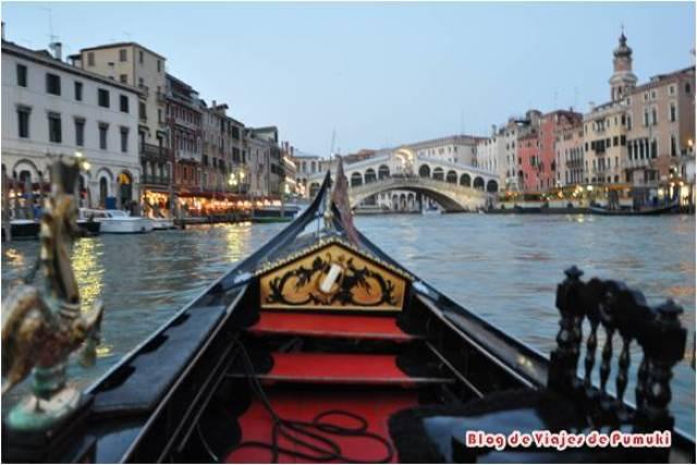 Paseo en Góndola por Venecia al atardecer