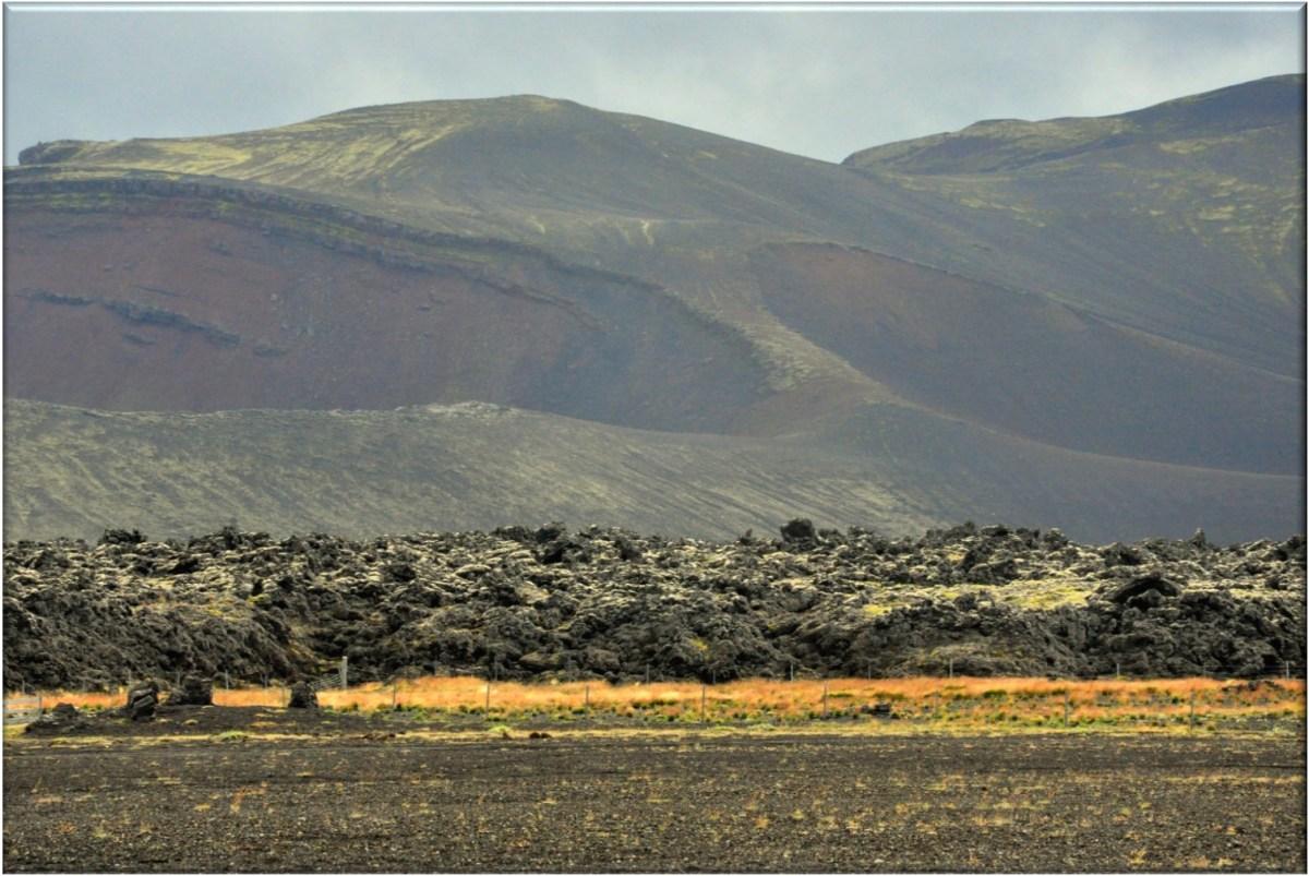 Volcán Hekla en Islandia