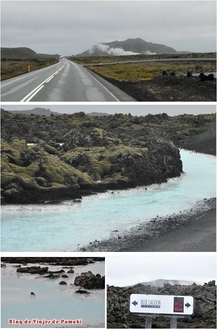 Acceso a Laguna Azul en Islandia