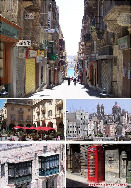 La Valeta en Malta esta declarada Patrimonio de la Humanidad por la UNESCO.