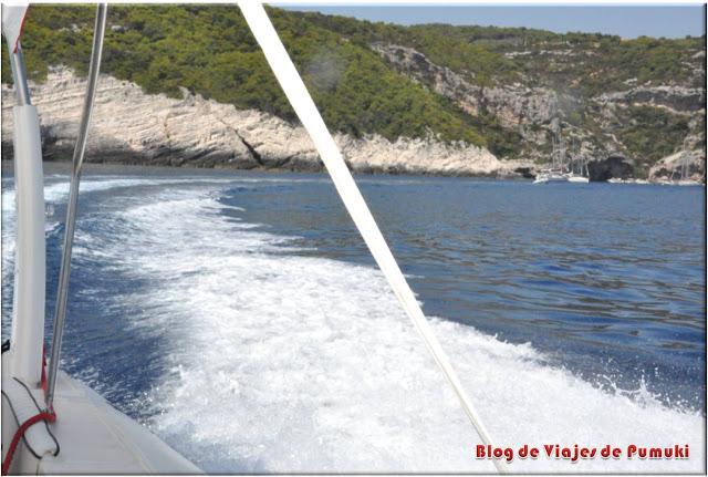 Excursión en lancha rápida a Vis y Bisevo en Croacia