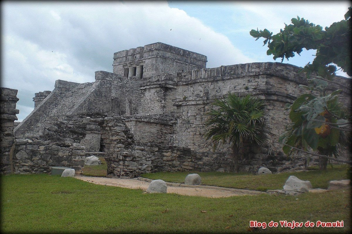 Las Ruinas de Tulum en la Riviera Maya, Mexico