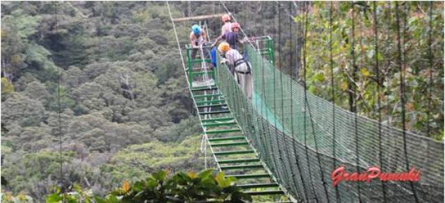 Monteverde es paraíso de los deportes de aventura. Más en Blog de Viajes de Costa Rica