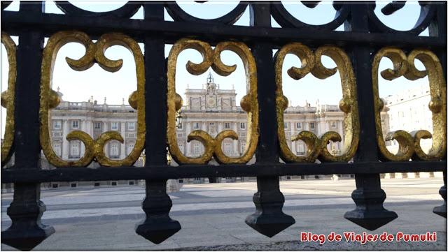 Palacio Real de Madrid en la plaza de Oriente