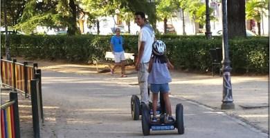 Segway por Madrid con Niños
