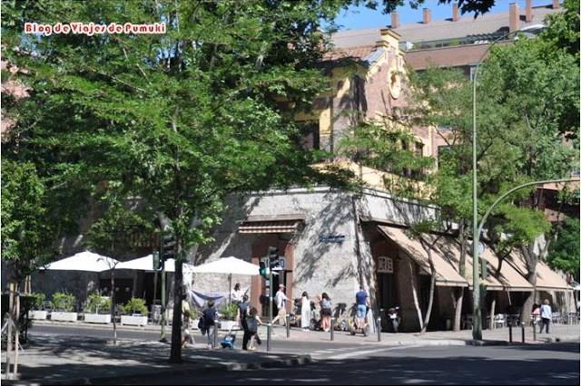Restaurante Casa Mingo en el Paseo de la Florida. Blog de viajes por Madrid