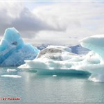 El Lago Glaciar de Jokusarlon, Islandia