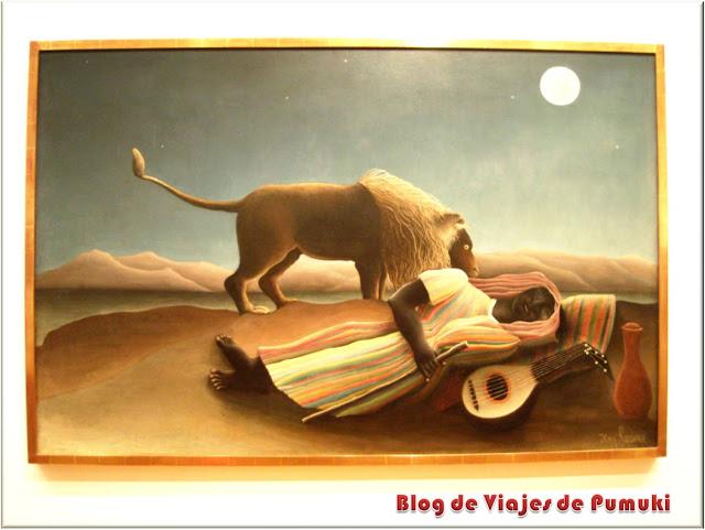 La Gitana Dormida de Henri Rousseau en el MoMA, Guía para Viajar a Nueva York