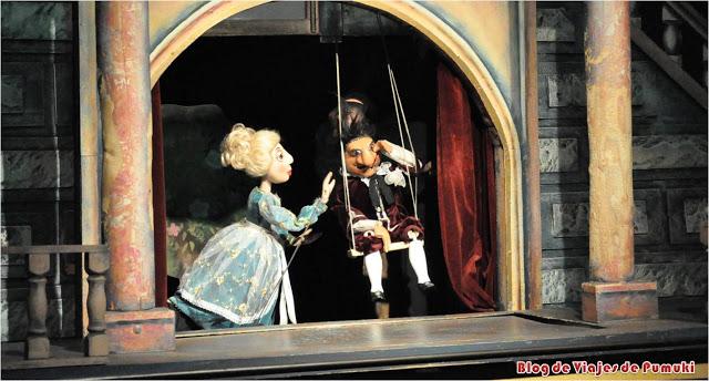 Teatro de marionetas en Praga