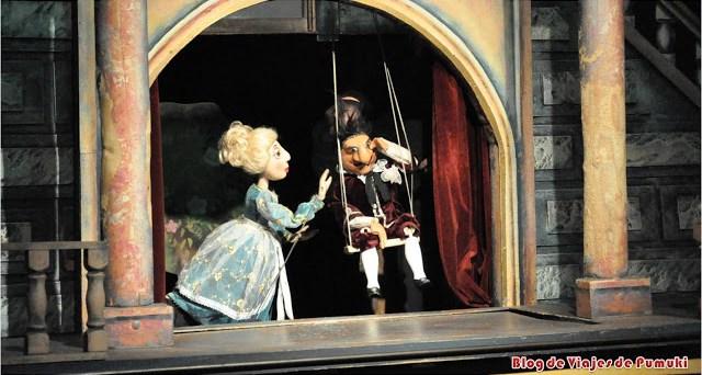 La marionetas y el teatro de marionetas en Praga