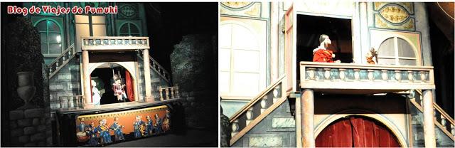 Escenas de la representación en el Teatro Nacional de Mariontas