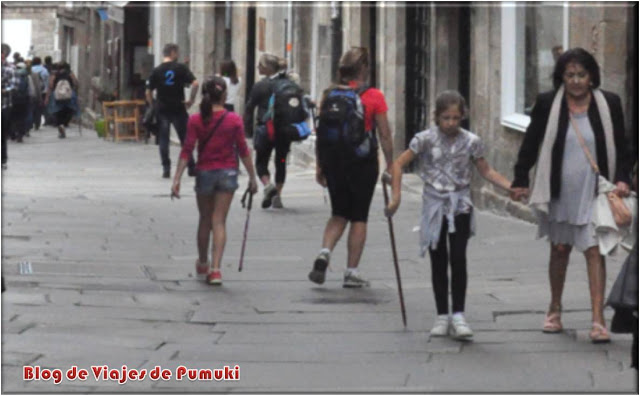Llegada a Santiago después del Camino