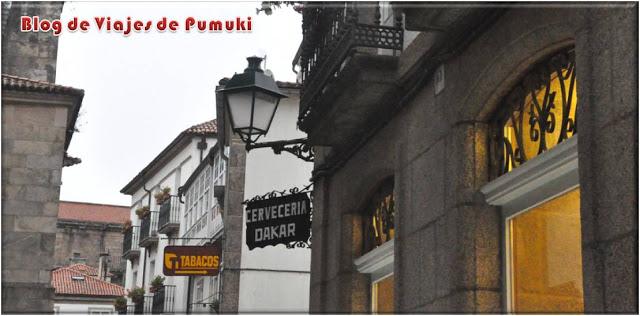 Paris Dakar en Santiago de Compostela