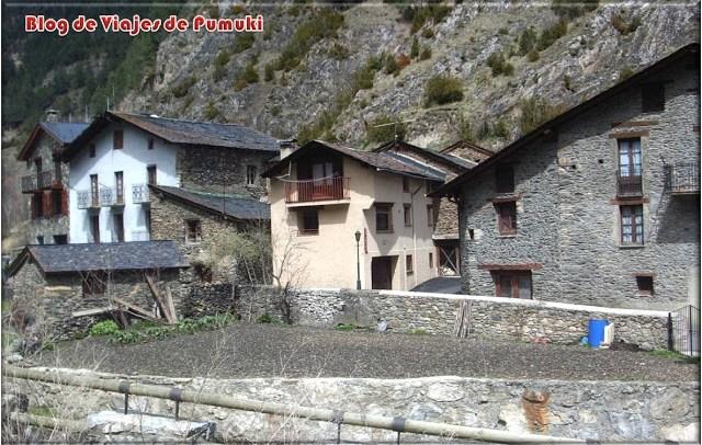 Casas en pueblo de montaña en Andorra