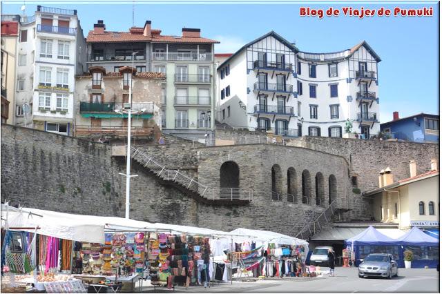 Vista de Guetaria desde el puerto. Blog de Viajes, País Vasco