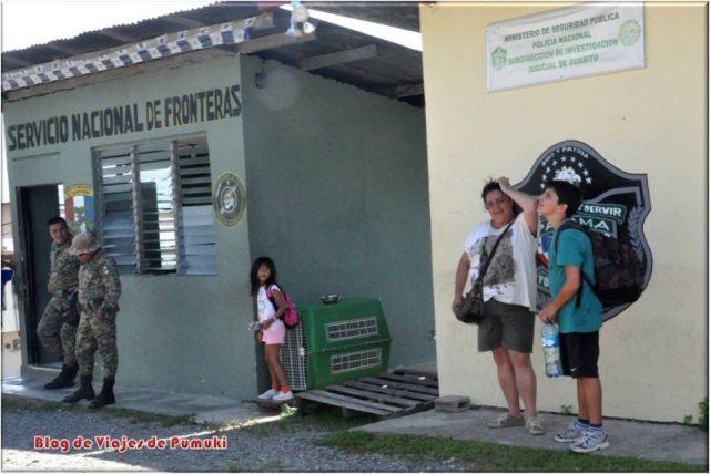 Control Policial de Guabito, Panamá