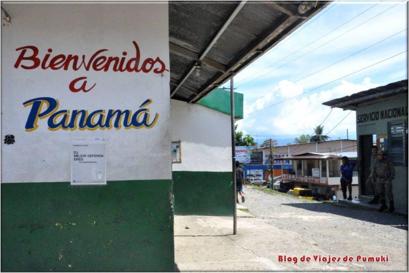 Guabito, Entrada fronteriza a Panamá desde Costa Rica