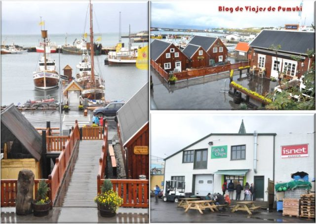 Husavik, pueblo pesquero. Avistamientode ballenas, Islandia