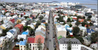 Reikiavik, Capital de Islandia. Blog Viajes a Islandia