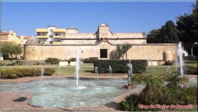 Fortaleza de Bezmiliana en el Rincon de la Victoria, Málaga