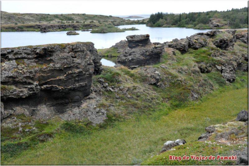 Lago Myvatn, blog viajes a Islandia