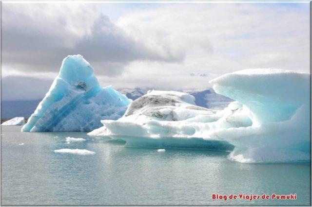 Lago Glaciar Jokulsarlon, Islandia