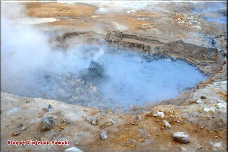 Solfataras de Hverir, Islandia