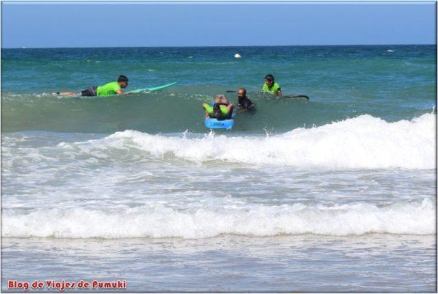 Aprendiendo Surf en Cádiz,, Actividades náuticas en cádiz