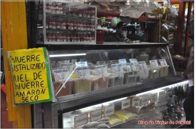 Especias en el Mercado de San José
