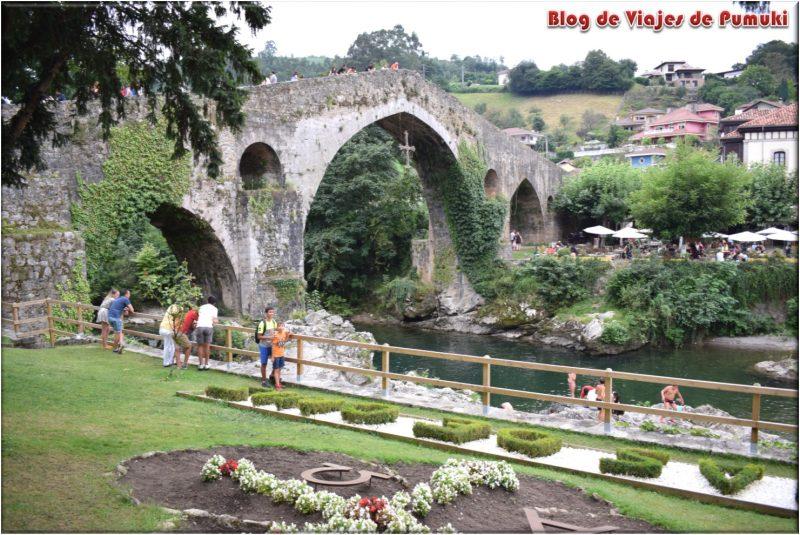 Puente de Cangas de Onís, Asturias