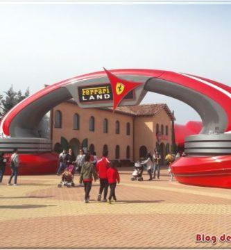 Entrada de Ferrari Land Salou, el mundo ferrari en un Parque temático en Tarragona