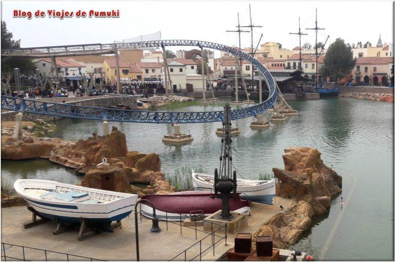 Furius Baco en el Mundo Mediterraneo de Port Aventura