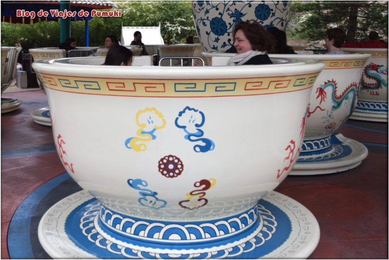 Tea Cups en Mundo de China, Port Aventura