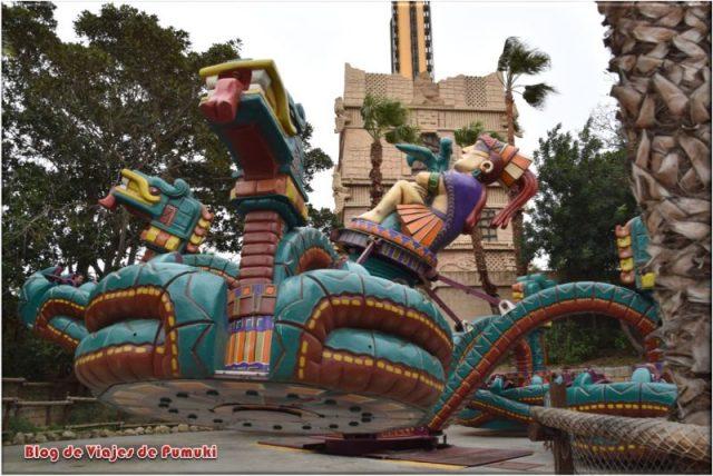 Serpiente Emplumada en Mundo Maya, Port Aventura