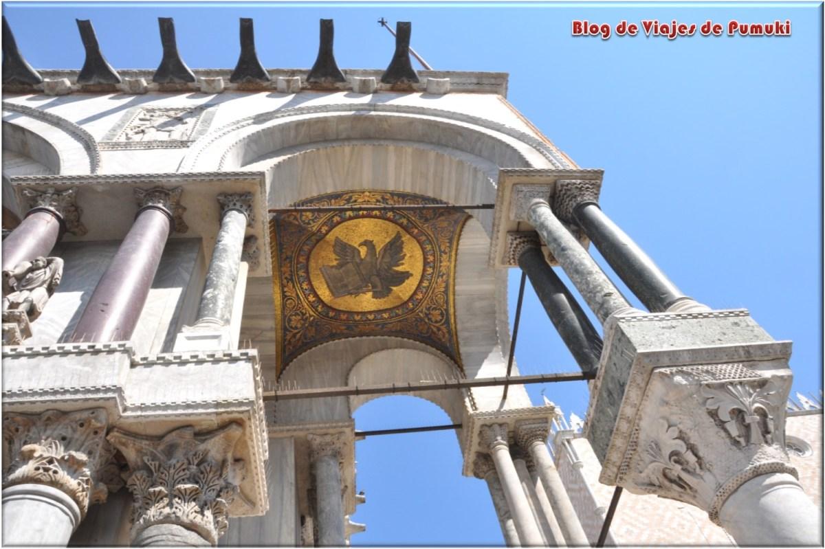Detalle de la Basílica de San Marcos en Venecia