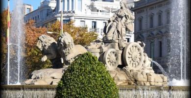 La Cibeles en la Guía para viajar a Madrid