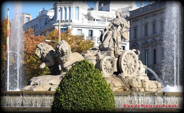 Fuente de la Diosa Cibeles de Madrid