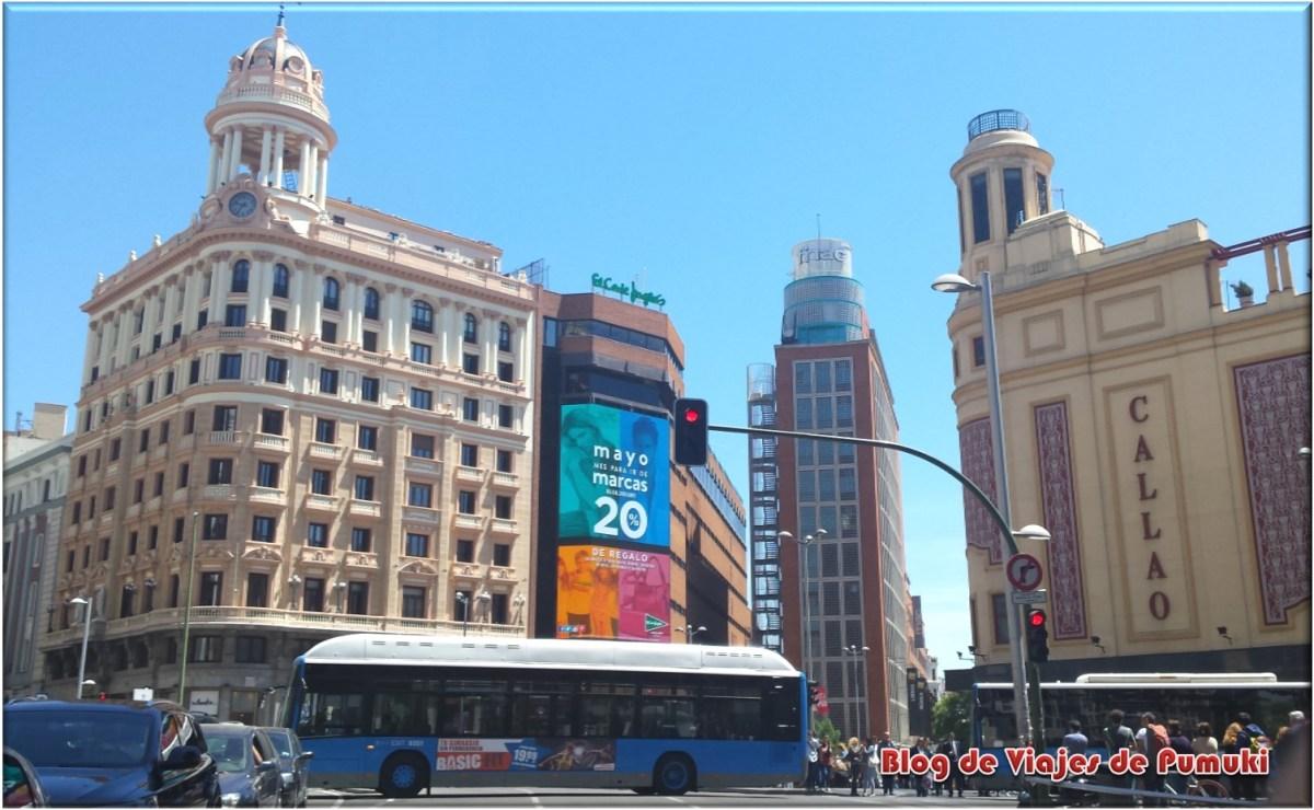Plaza de Callao en Madrid